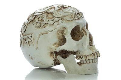 Тибетский резной череп